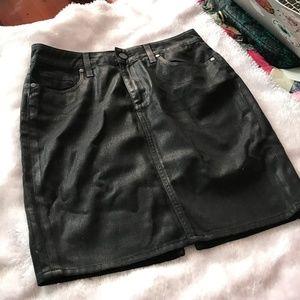NWOT Paige Chantelle Denim Pencil Skirt sz 26